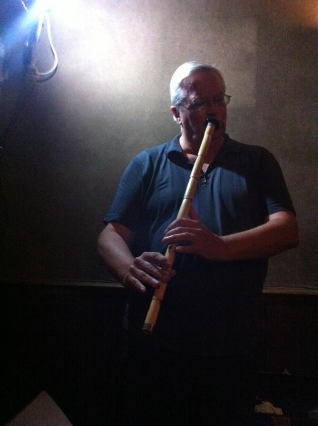 Drake on a Turkish flute