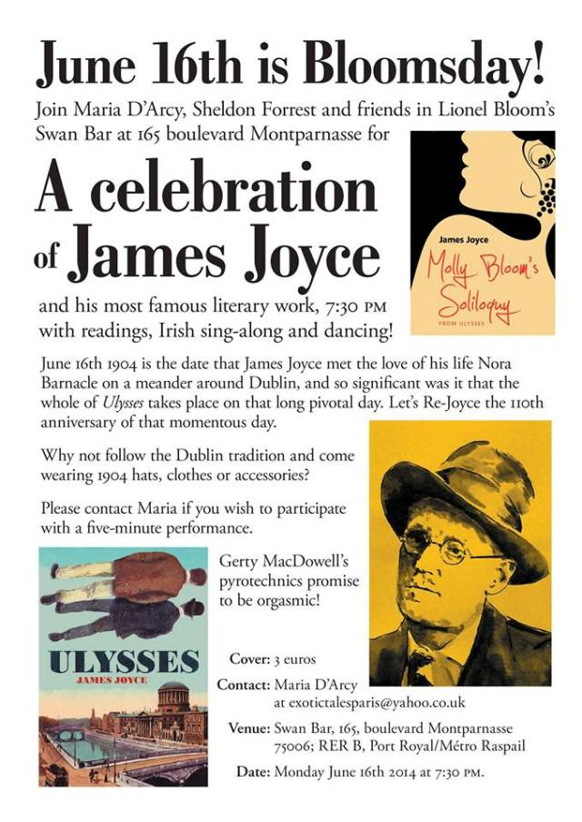 June 16th is Bloomsday!