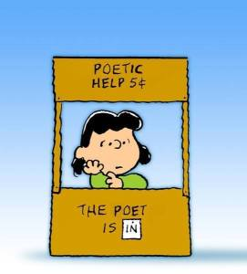 Antonia the poet is in